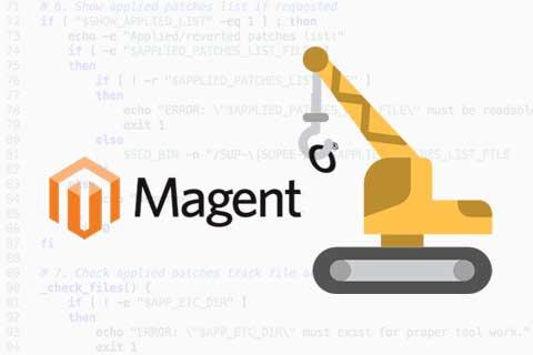Zelf Magento patches installeren